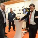 Hans Roeland en  Dr. Eric W. Boom van Dutch Space Netherlands@Giants