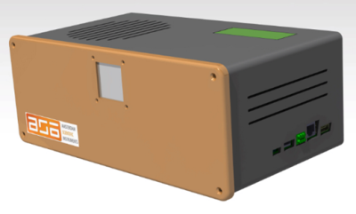 3D-model of the HS-cameras.